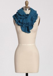 by the creek ruffled scarf, ruche