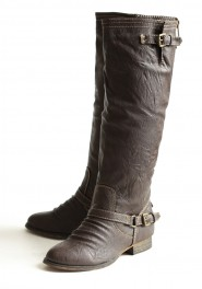 everyday outlaw boots, ruche