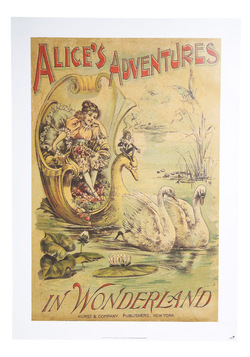 illustrated abode poster in Alice's Adventures, modcloth