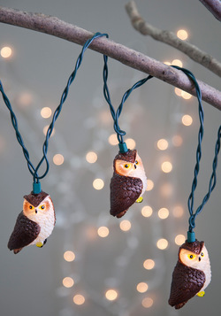 owl illuminate the way lights, modcloth
