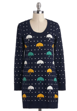 rhythm of the raindrops sweater, modcloth