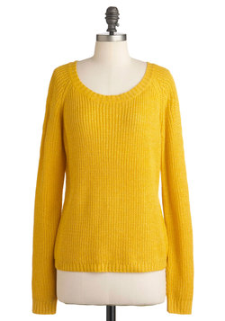 shining smile sweater, modcloth