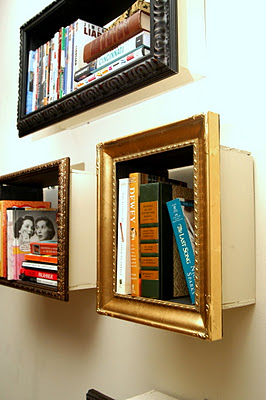 frames over boxes