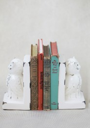 night owl bookends, ruche