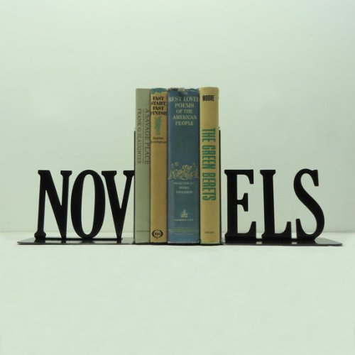 novels bookends, knobcreekmetalarts