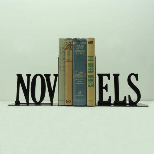 novels bookends, knobcreekmetalarts