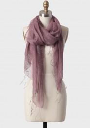 shy violet silk scarf