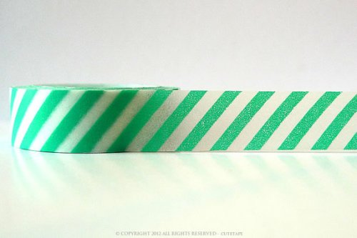 tape aqua stripe