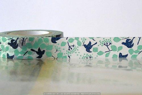 tape birds