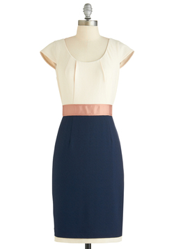 a whole neutral outlook dress, modcloth