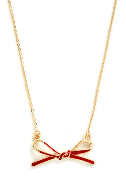 dash of darling necklace, modcloth