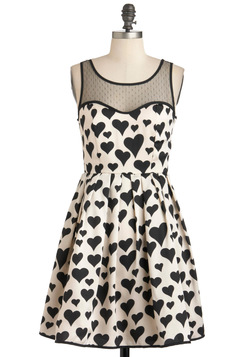 heart over heel dress, modcloth
