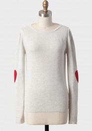sweetest love sweater, ruche