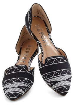 ill be quirky flat, modcloth