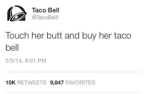 touch her butt
