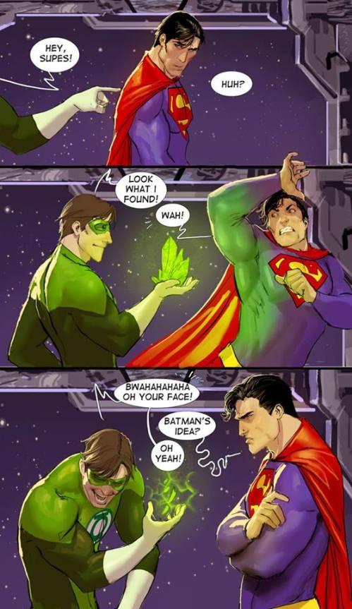 superhero prank