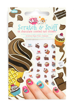 flirty and dessert-y nail stickers, modcloth