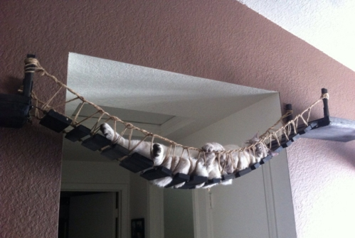 cat bridge, etsy CatastrophiCreations